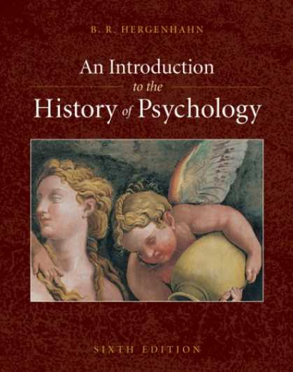 History Books - An Introduction to the History of Psychology