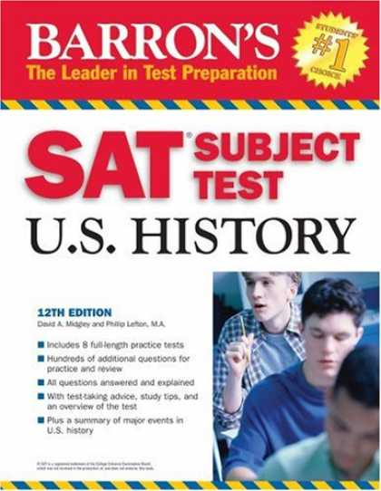 History Books - Barron's SAT Subject Test in U.S. History (Barron's How to Prepare for the Sat I