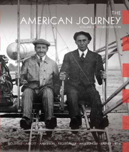 History Books - The American Journey: A History of the United States, Vol. 2, 4th Edition