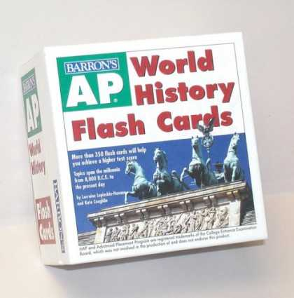 History Books - AP World History Flash Cards
