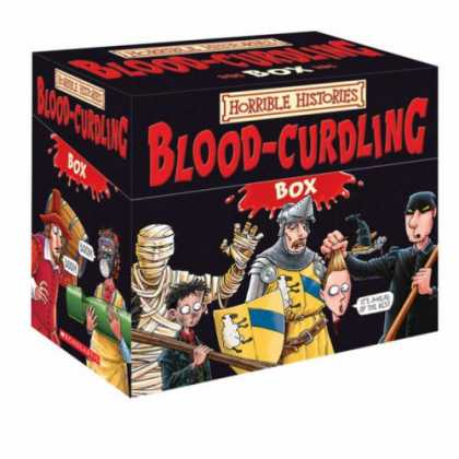 History Books - Blood-curdling Box (Horrible Histories)