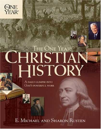 History Books - The One Year Christian History (One Year Books)