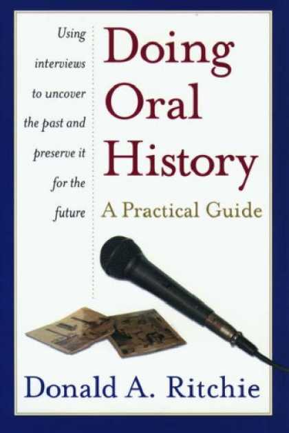 History Books - Doing Oral History