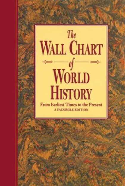 History Books - The Wallchart of World History (Revised): From Earliest Times to the Present - A