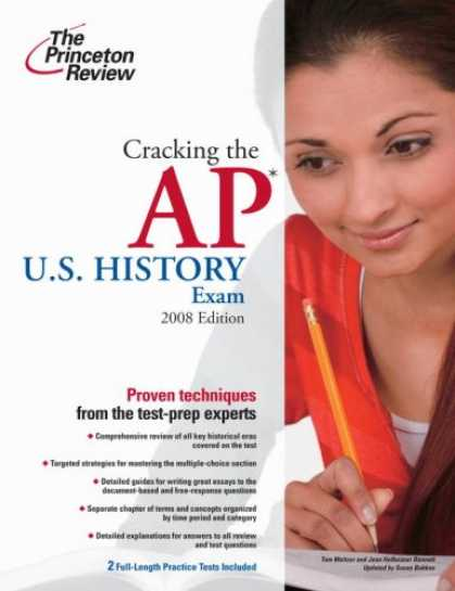 History Books - Cracking the AP U.S. History Exam, 2009 Edition (College Test Preparation)