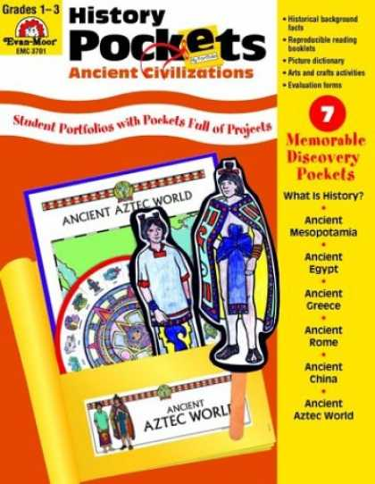 History Books - History Pockets: Ancient Civilizations, Grades 1-3