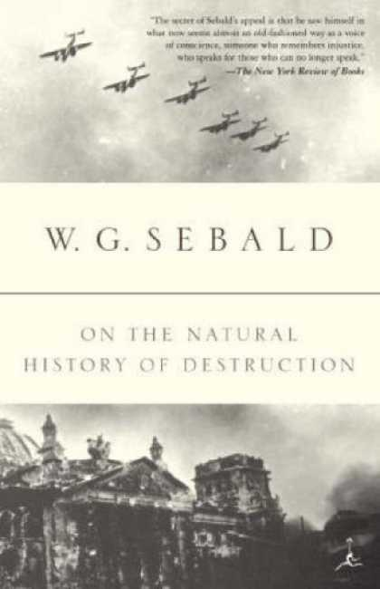 History Books - On the Natural History of Destruction (Modern Library Paperbacks)