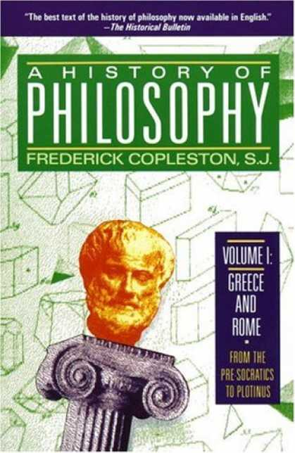 History Books - History of Philosophy, Volume 1