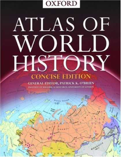 History Books - Concise Atlas of World History