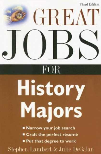 History Books - Great Jobs for History Majors (Great Jobs Series)