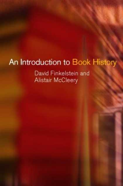 History Books - An Introduction to Book History