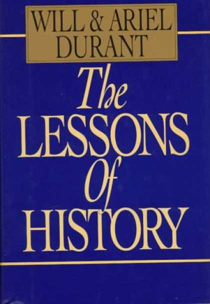 History Books - The Lessons of History
