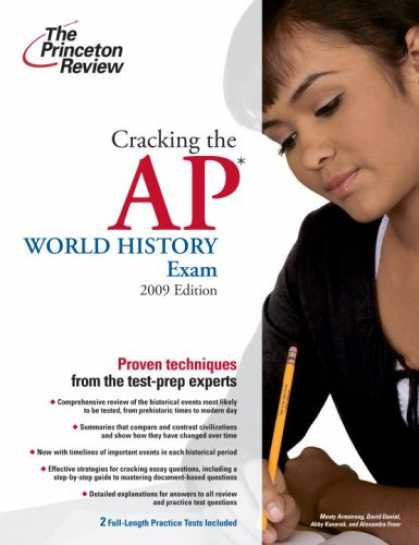 History Books - Cracking the AP World History Exam, 2009 Edition (College Test Preparation)