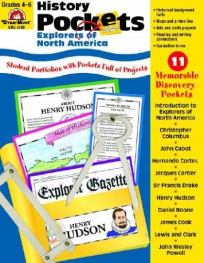 History Books - History Pockets: Explorers of North America, Grades 4-6+