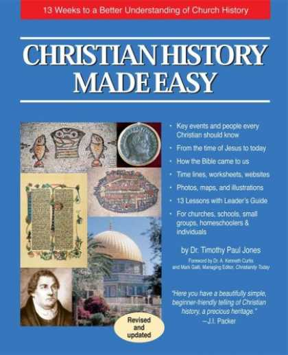 History Books - Christian History Made Easy: 13 Weeks to a Better Understanding of Church Histor