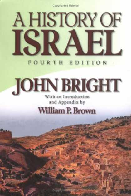 History Books - A History of Israel