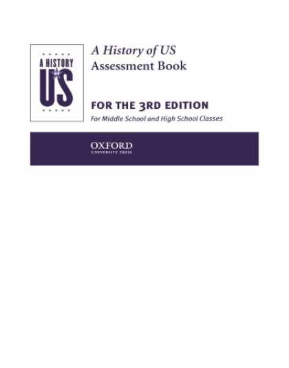 History Books - A History of US: Assessment Book: Books 1-10