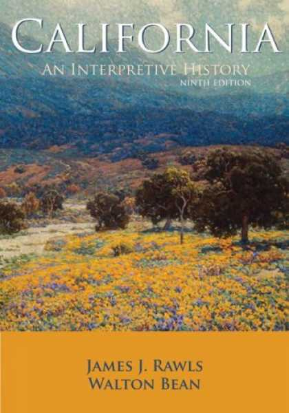 History Books - California: An Interpretive History with Map Poster