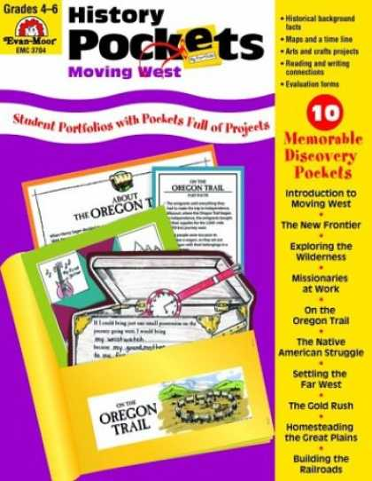 History Books - History Pockets: Moving West, Grades 4-6+
