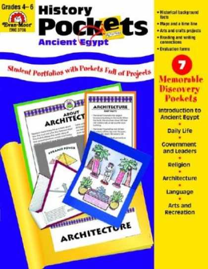 History Books - History Pockets: Ancient Egypt: Grades 4-6+