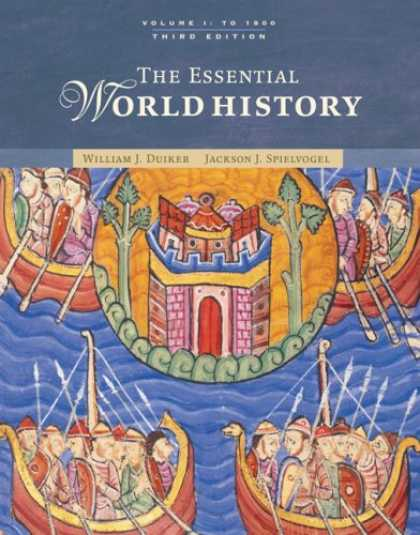 History Books - The Essential World History, Volume I