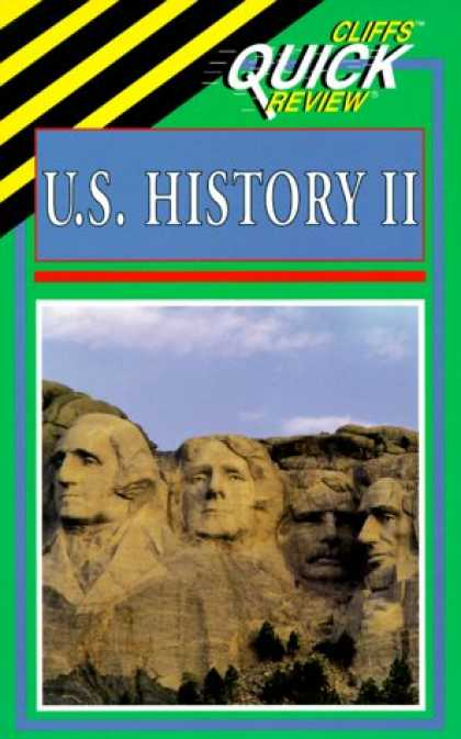 History Books - U.S. History II (Cliffs Quick Review)