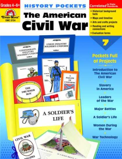 History Books - History Pockets: The American Civil War