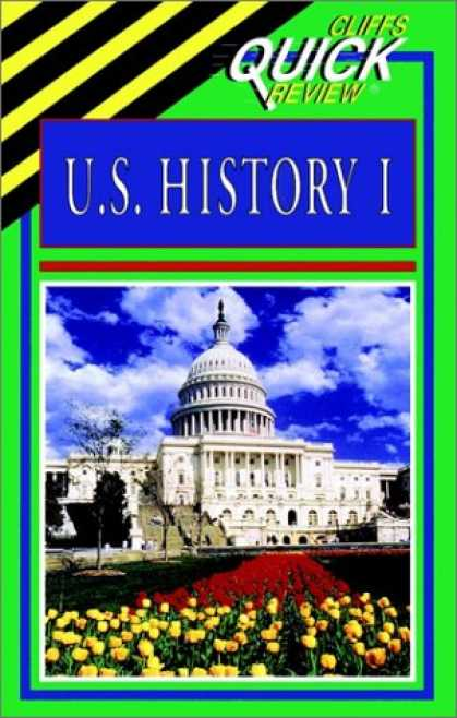 History Books - U.S. History I (Cliffs Quick Review)