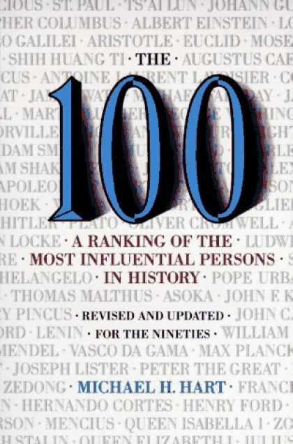 History Books - The 100: A Ranking Of The Most Influential Persons In History