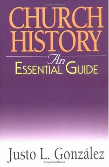 History Books - Church History: An Essential Guide (Essential Guide (Abingdon Press))