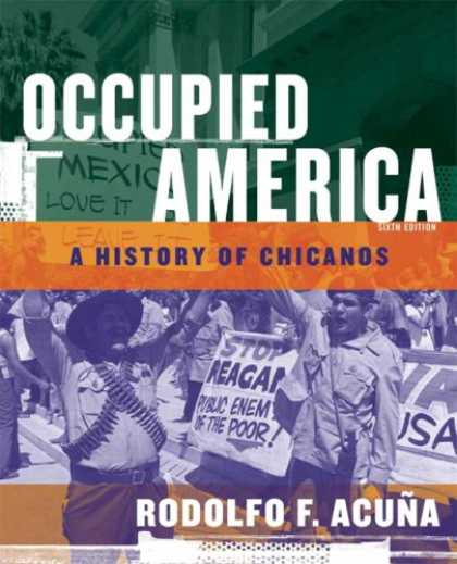 History Books - Occupied America: A History of Chicanos (6th Edition)