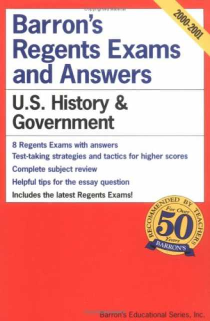 History Books - U.S. History and Government