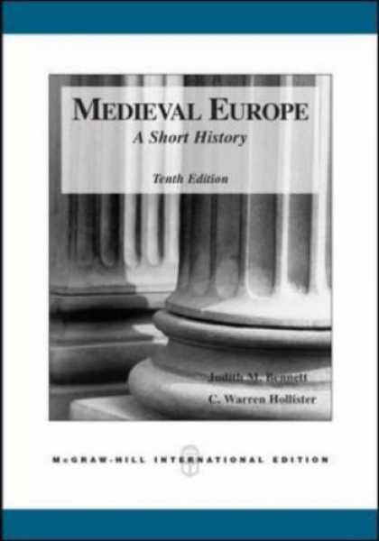 History Books - Medieval Europe: A Short History