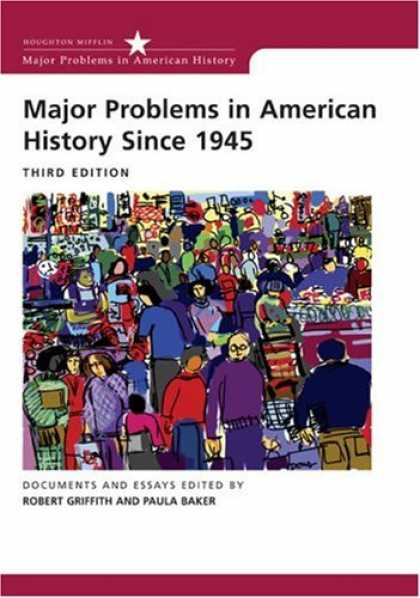 History Books - Major Problems in American History Since 1945