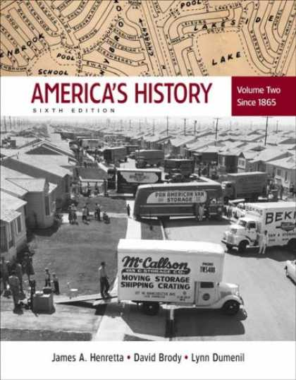 History Books - America's History: Volume 2: Since 1865