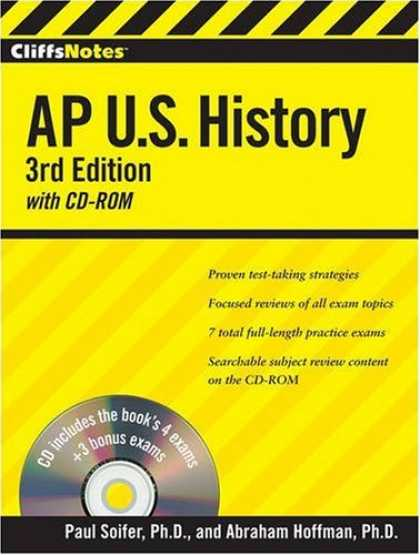 History Books - CliffsNotes AP U.S. History