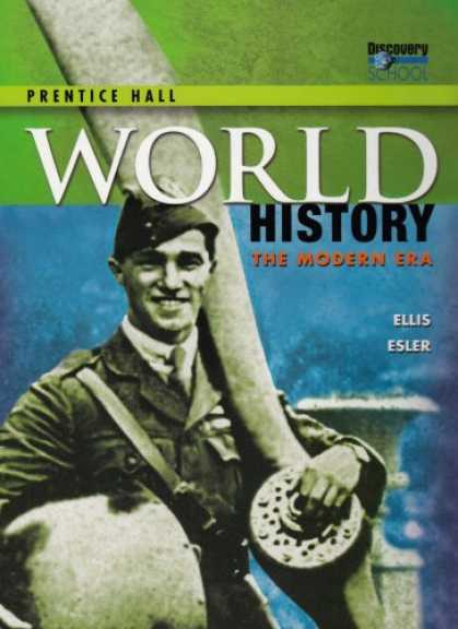 History Books - Prentice Hall World History: The Modern Era