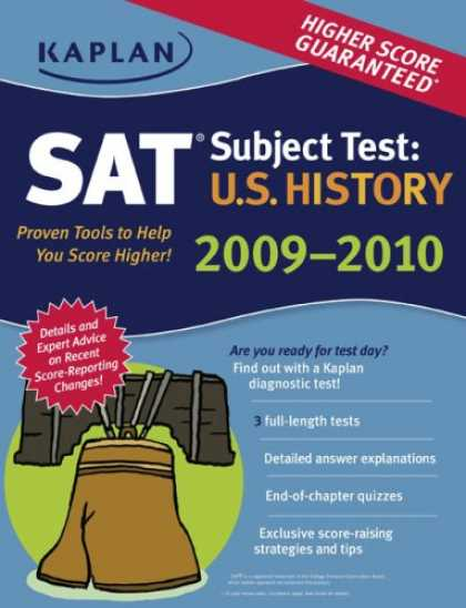 History Books - Kaplan SAT Subject Test: U.S. History 2009-2010 Edition (Kaplan Sat Subject Test