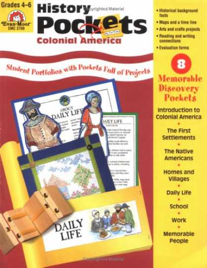 History Pockets : Native Americans, Grades 1-3 by Kare Evan-Moor (2003,...