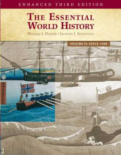 History Books - The Essential World History, Enhanced Edition, Volume 2