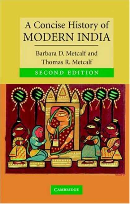 History Books - A Concise History of Modern India (Cambridge Concise Histories)