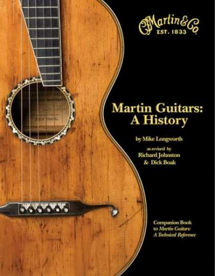 History Books - Martin Guitars A History Revised and Updated Book 1
