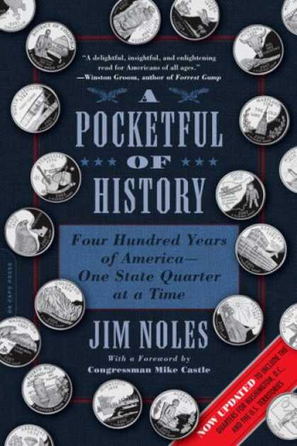 History Books - A Pocketful of History: Four Hundred Years of America-One State Quarter at a Tim