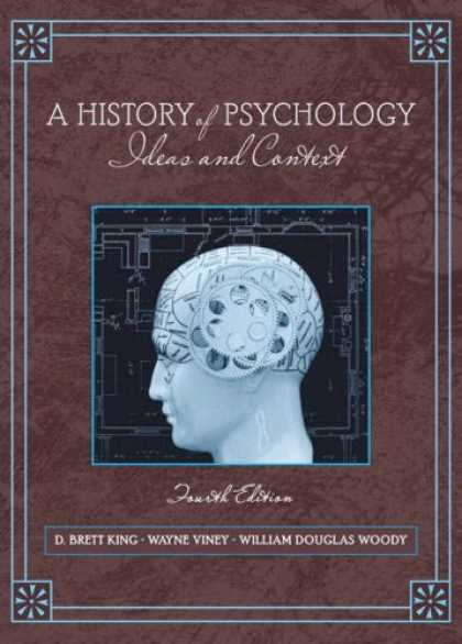 History Books - A History of Psychology: Ideas and Context (4th Edition) (MySearchLab Series)