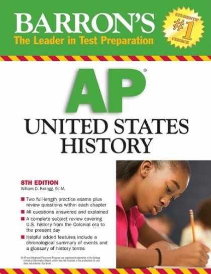 History Books - Barron's AP United States History 2009 (Barron's How to Prepare for the Ap Unite