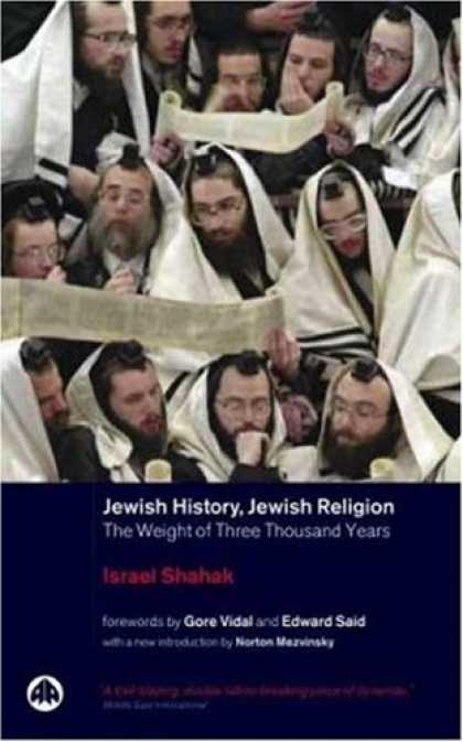 History Books - Jewish History, Jewish Religion: The Weight of Three Thousand Years (Pluto Middl