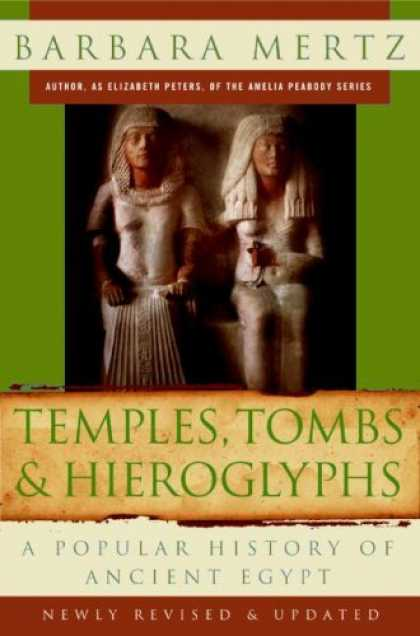 History Books - Temples, Tombs, and Hieroglyphs: A Popular History of Ancient Egypt