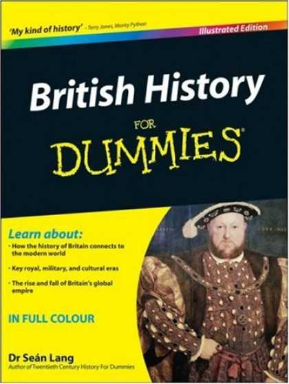 History Books - British History For Dummies Illustrated Edition (For Dummies (History, Biograph