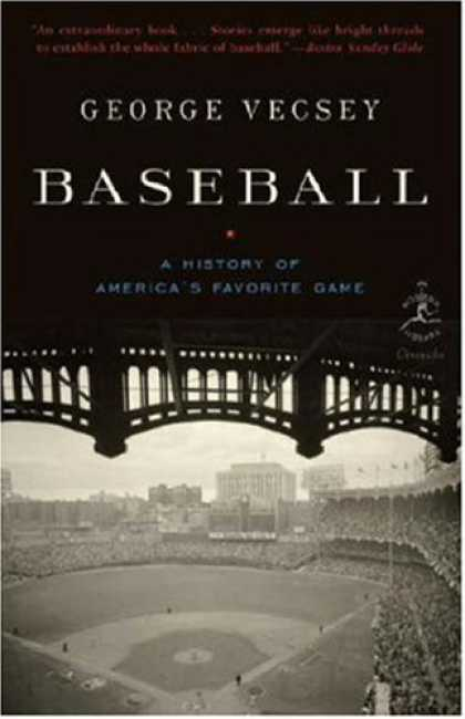 History Books - Baseball: A History of America's Favorite Game (Modern Library Chronicles)