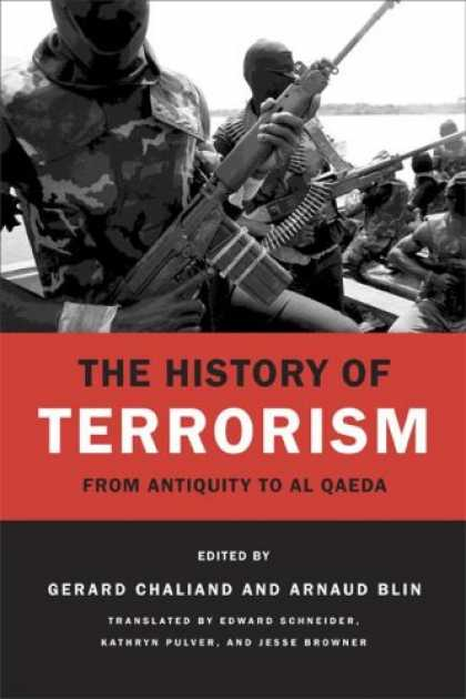History Books - The History of Terrorism: From Antiquity to al Qaeda